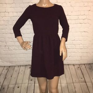 Loft Petite dress 3/4 sleeve mini 00P